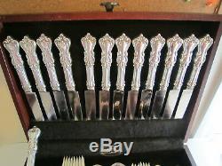 Reed Barton Marlborough Sterling Silver Flatware Set 78 pcs Service for 12