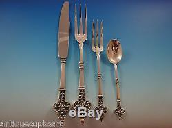 Renaissance by Christofle Sterling Silver Dinner Flatware Service 8 Set 51 Pcs