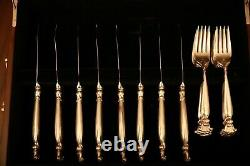 Romance of the Sea by Wallace Sterling Silver Flatware Set 8 Service 100 Pcs