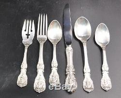 STERLING SILVER FLATWARE SET of 50 BY REED & BARTON FRANCIS 1ST For 8 No Mono