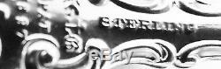 STRASBOURG by Gorham Sterling Silver 8 3/4 SARATOGA CHIP SERVER, RARE