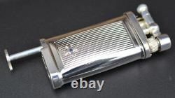 Sillem´s ITT IM Corona Old Boy Stripes 925 Sterling-Silver Pipe Lighter