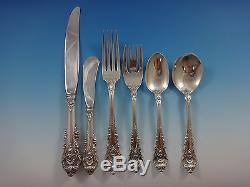 Sir Christopher by Wallace Sterling Silver Flatware Set For 8 Service 55 Pieces