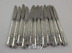 State House Stately Sterling Silver Grille Knives 8 3/8 Set of 12 No Mono