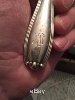 Sterling Silver Flatware Set Alvin William 1907 SERVICE FOR 12