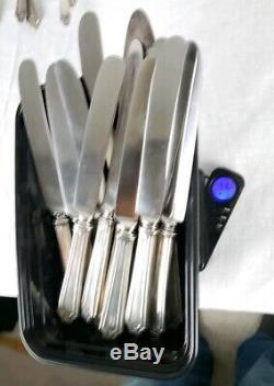 Sterling Silver Flatware Set Service For 12 Gorham Whiting UNDER SCRAP VALUE