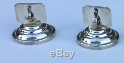 Sterling Silver Place Setting Card Holder