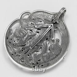 Sterling Silver Tyr Pendant by Dryad Design Asatru Norse Viking Rune Jewelry