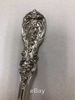 Sterling silver Reed & Barton FRANCIS I SALAD SERVING spoon 9 3/8 no Mono 149g