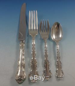 Strasbourg by Gorham Sterling Silver Dinner Flatware Set 6 Service 24 Pieces