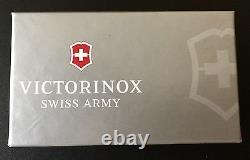 Swiss Army Knife, Sterling Silver Hammered, Victorinox 53029, New In Box