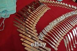 Tiffany & Co Sterling Silver English King Flatware 159 Pc Silverware Set For 24