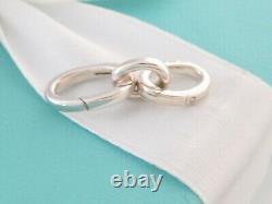 Tiffany & Co. Sterling Silver Necklace Bracelet Oval Link Clasp Extender 1