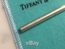 Tiffany & Co Sterling Silver Straw Rare