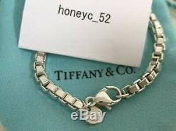 Tiffany & Co. Venetian Link Bracelet Sterling Silver 925 withPorch DHL