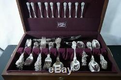 Tiffany and Co. Kings Pattern Sterling silver flatware set with 87pc