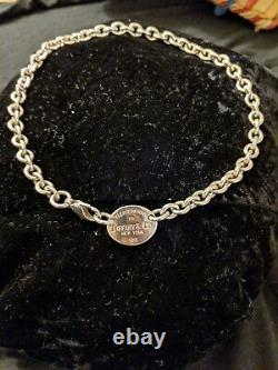 Tiffany & co sterling silver necklace $225.00
