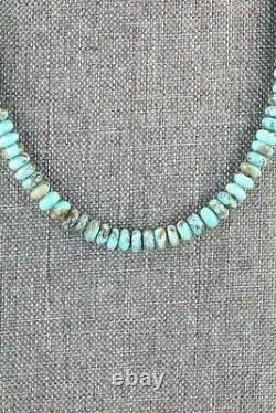 Turquoise & Sterling Silver Necklace Louise Joe