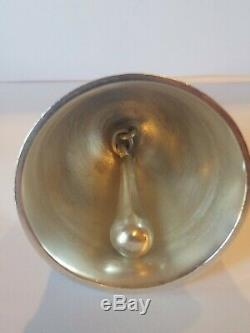 Vintage Georg Jensen Acorn Sterling Silver Dinner Service Bell 925