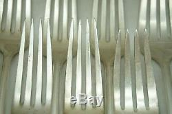 Vintage Sterling Silver Flatware Towle Chippendale Pattern 40 Pc Silverware