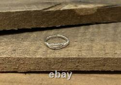 Womens Spacial Leaf Toe Ring Sterling Silver 14k White Gold Over Beach Wear