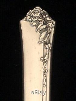 72 Piece Sterling Silver Set Argenterie, Rose De Damas 93,4 Toz Tw