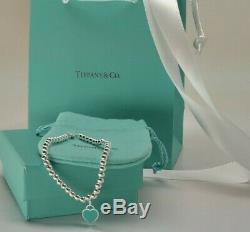 Argent Massif Tiffany & Co Bracelet Moyenne 7 Un Cadeau Pour Elle Usafreeship