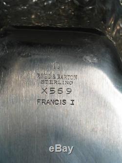 Argent Sterling Reed & Barton Francis 1 Premier Bon Bon Dish 8