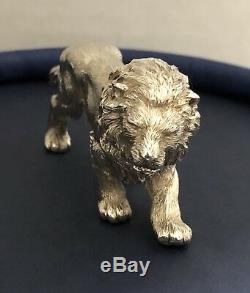 Asprey Sterling Silver Lion 1987-1997 Mark