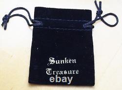 Bague Atocha Coin Mesdames Argent 925 Sunken Trésor Monnaie Bijoux