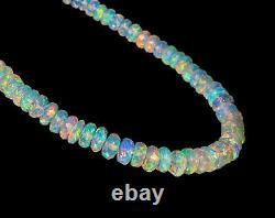 Bracelet Naturel Éthiopien Opale 925 Sterling Silver Healing Gemstone Femmes Cadeau Femmes