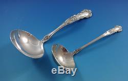 Buttercup By Gorham Sterling Silver Set De Couverts Pour 12 Dinner Size 65 Pieces