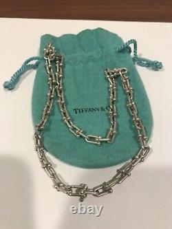 Collier De Chaîne Tiffany Et Co. Sterling Silver Hardwear Link 18