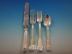 Coquille Et Fil Par Tiffany Sterling Silver Flatware Set Service 47 Pièces