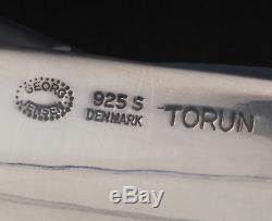 Coupe-papier Georg Jensen Sterling # 469. Design Torun. Nouveau! Fabriqué Au Danemark