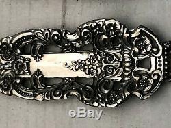 Couronne Baroque Par Gorham Sterling Silver 4 Pièce Dîner Taille Dressée