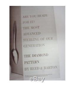 Diamant Par Reed Et Barton Service De Couverts En Argent Sterling 28 Pcs Gio Ponti