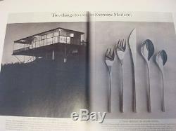 Ensemble De Couverts Vision By International En Argent Sterling MID Century Modern 32 Pcs