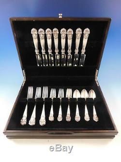 Géorgie Par Towle Sterling Silver Flatware Set Pour 8 Service 32 Pièces Vintage