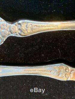 Gorham Buttercup Sterling Flatware Set Vrai Dîner Taille 8 Par 6