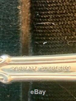 Gorham Chantilly En Argent Sterling Flatware Service Set Pour 4 Avec 5 Pieces Par 20
