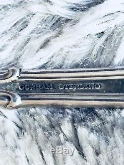 Gorham Chantilly Set De 6 Couvercles En Argent Argent Sterling Avec Couteaux À Beurre