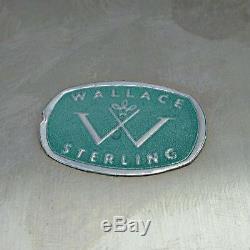 Grande Assiette En Argent Massif Antique Wallace 4306