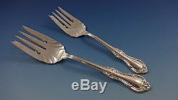 Joan Of Arc Par International Sterling Silver Flatware Dinner Size Set 88 Pièces