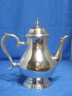 Lunt - Sterling Silver 5 Pièces - Thé, Café, Sucre, Crème Et Déchets Bowl