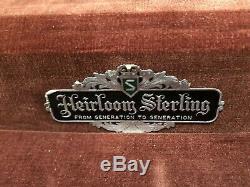 Maison De Maître Heidaoom En Argent Sterling Par Oneida 50 Couverts, Couverts
