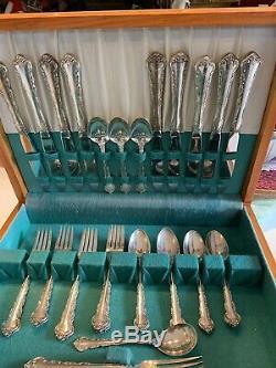 Manor Peachtree Par Towle Sterling Silver 31 Pieces Flatware