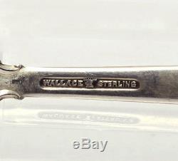 Ménagère Vintage Wallace Grande Baroque En Argent Sterling, Service De 4 Déjeuners, 24 Personnes