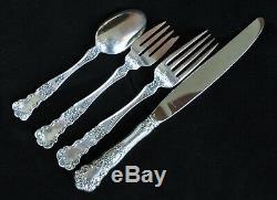 Mettre Fin 5 Décembre Buttercup Gorham Sterling Silver Flatware Set Pour 8 32pc Déjeuner
