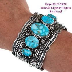 Natif Bijoux Américain Lot Turquoise En Argent Sterling Bague Bracelet Scrap Pas